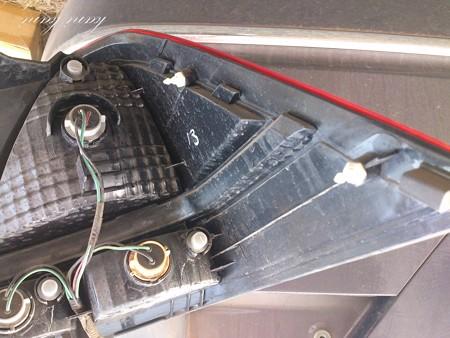 オデッセイ RB1 ブレーキランプ交換