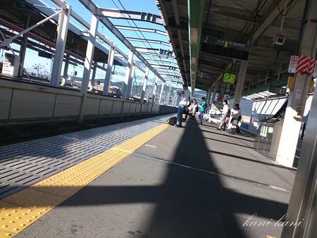 栃木駅 JR両毛線ホーム