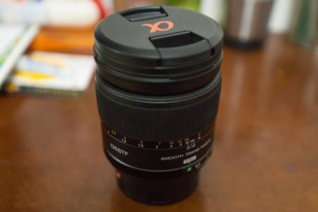 #1 SAL135F28 STF レンズ