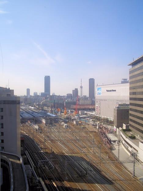 リニューアル前の大阪駅の風景