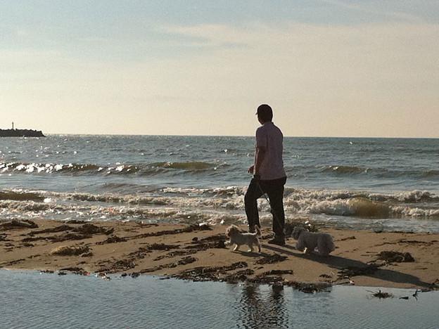 120802 寺泊の海で 4