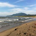 写真: 120802 寺泊の海で 8