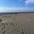 写真: 120802 寺泊の海で 3-1