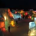 【パノラマ撮影】支笏湖氷濤まつり