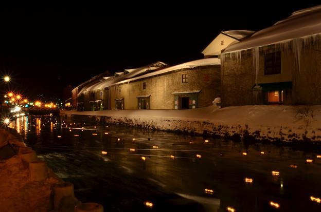 Photos: 小樽雪あかりの路 小樽運河