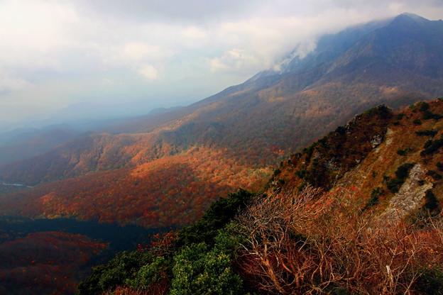 紅葉の大山山麓、鳥取県 ☆