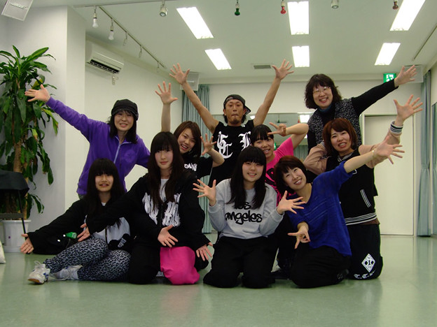 稲毛ストリートダンススクール「Beat squad」始動♪