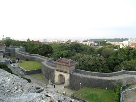 沖縄 首里城久慶門 20071115