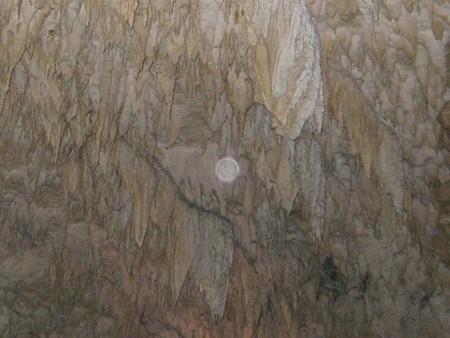 沖縄 玉泉洞6 真ん中にオーブ