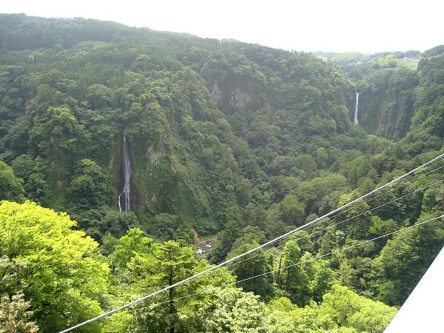九重 夢大吊橋から見た九酔峡