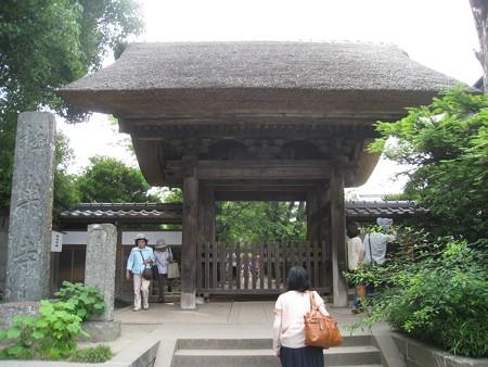 鎌倉 極楽寺 山門