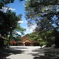 写真: 熱田神宮05 神楽殿