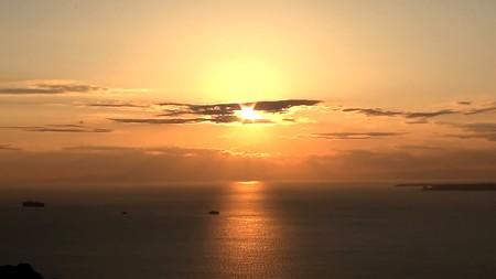 鋸山展望6―夕陽1