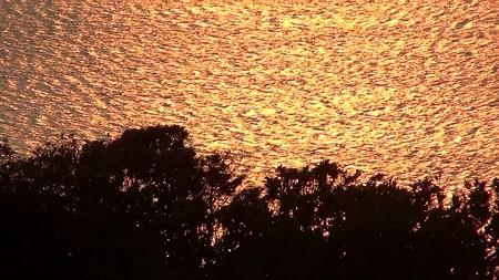 鋸山展望11―金の海