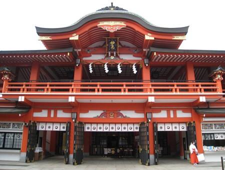千葉神社5 重層社殿20100410