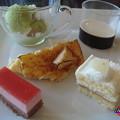 イル ミラジィオのランチブッフェ デザート