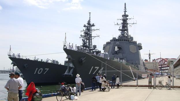 自衛隊の艦船