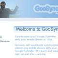 写真: GooSync ユーザー登録