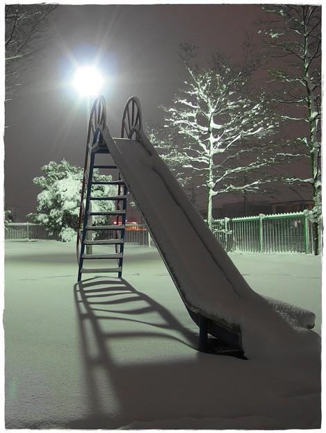 Photos: 白い滑り台