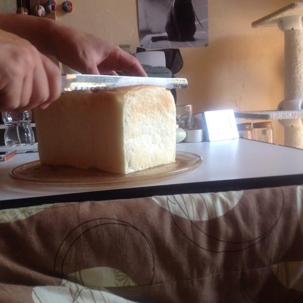 写真: 初食パン