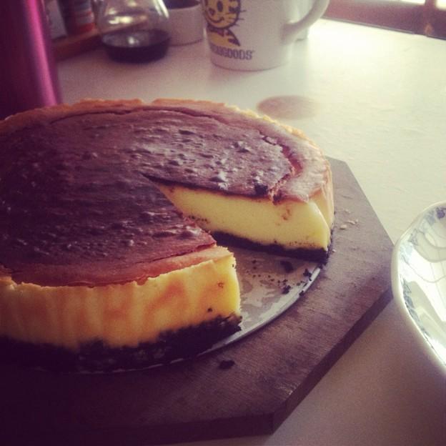 写真: NYチーズケーキ