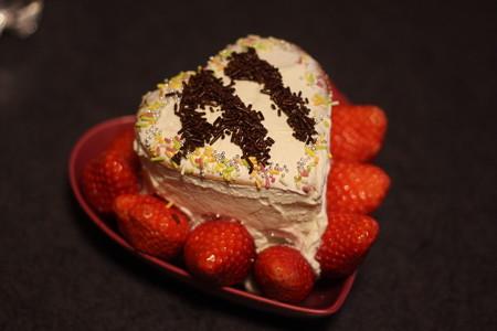 41歳になったよ!ケーキ