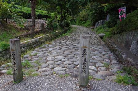 東海道石畳坂 (1)