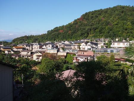大文字山の麓