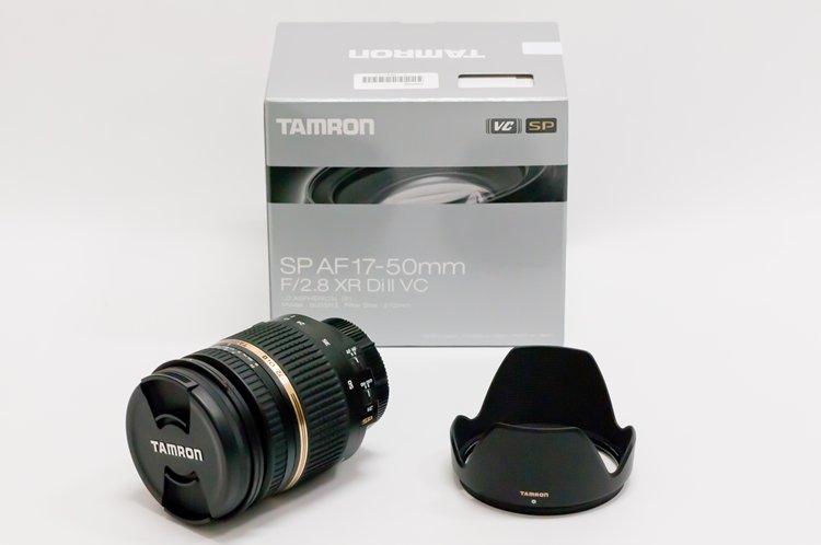 TAMRON SP AF17-50mm F/2.8 XR Di II VC LD Aspherical [IF] (Model B005NII) 全体