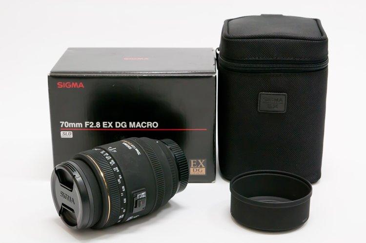 SIGMA MACRO 70mm F2.8 EX DG 全体