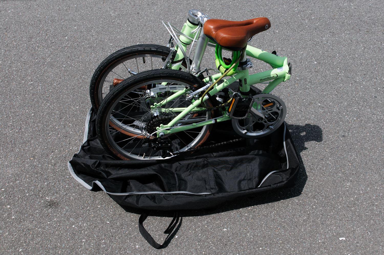 OSTRICH ちび輪バッグPW 自転車の収納1