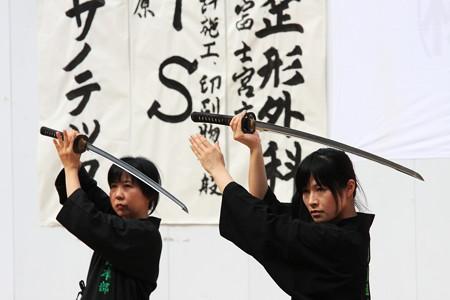 2012.08.05 富士 甲子祭 居合い