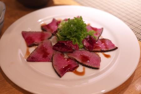 2012.08.12 仙台 牛たん炭焼 利久 牛タン生ハム