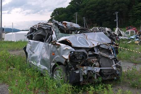 2012.08.13 大槌町 自動車