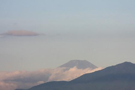 2012.09.20 駅前 富士山
