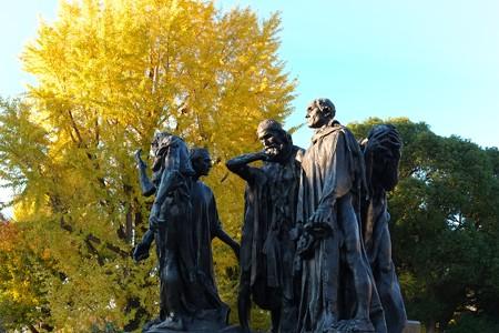 2012.12.06 上野 国立西洋美術館 カレーの市民 オーギュスト・ロダン 1884-88