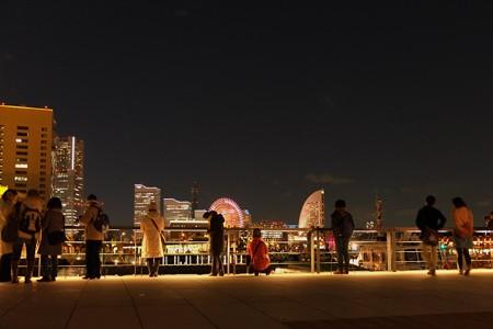 2012.12.09 みなとみらい 象の鼻パークから 夜景撮影隊