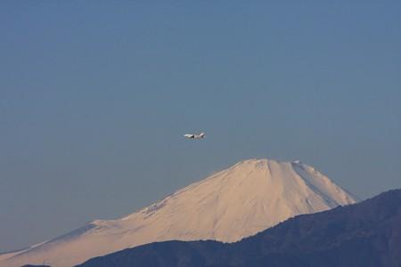 2012.12.26 駅前 富士山とXP-1