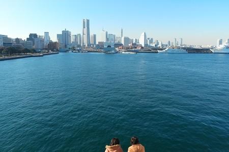 2012.12.27 氷川丸 デッキからの景色