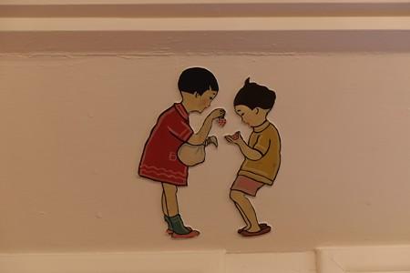 2012.12.27 氷川丸 一等児童室 お菓子