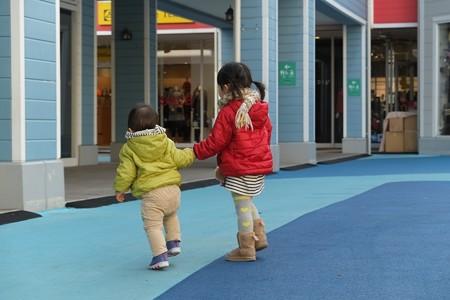 2013.01.17 三井アウトレットパーク 横浜ベイサイド 姫と王子