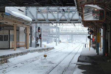 2013.01.25 青森駅 ホーム