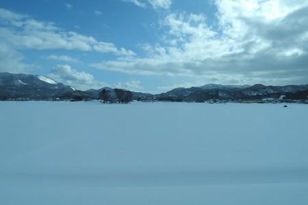 2013.01.27 浅虫温泉~青森 車窓から