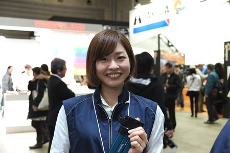 2013.02.02 パシフィコ横浜CP+2013 Velbon Booth