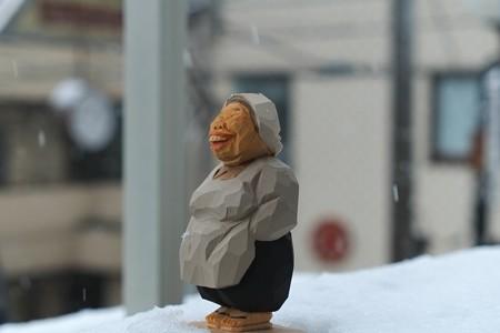 2013.02.19 ベランダ 雪