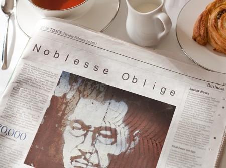 2013.02.26 PhotoFunia 合成 Noblesse Oblige