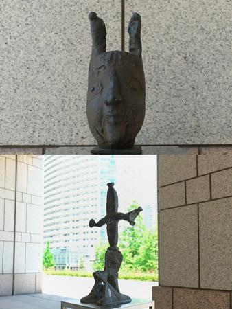 2013.04.27 横浜美術館 子どものアトリエ オブジェ-1