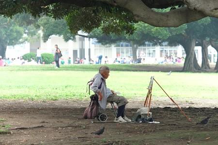 2013.07.25 山下公園 木陰