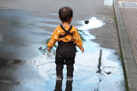 2009.08.04 富士市 甲子祭 祭は水と王子