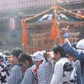 写真: 2013.08.04 富士市 甲子祭 神輿に水